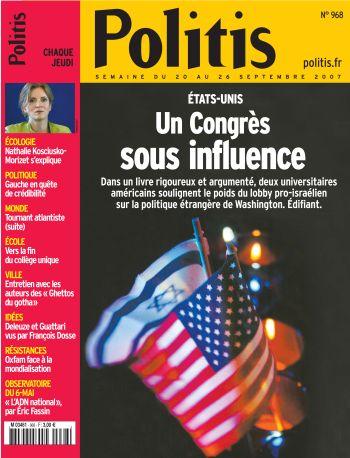 Couverture de l'Hebdo Politis N°968
