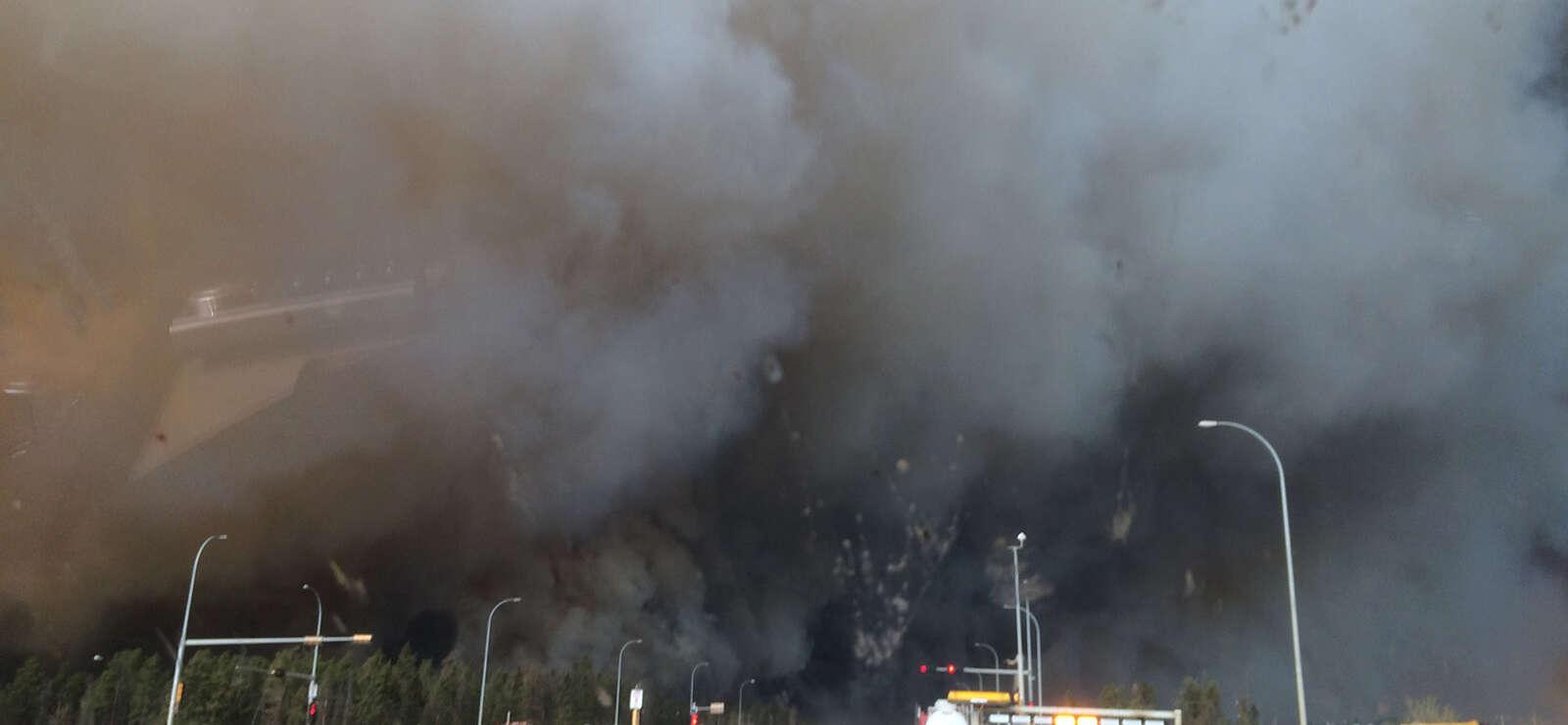 Canada: l'État d'Alberta en feu