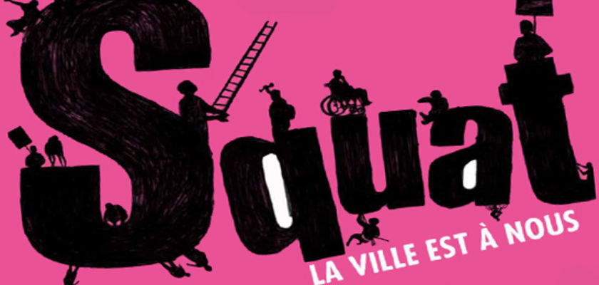 « Squat », un film à la rencontre des militants Barcelonais