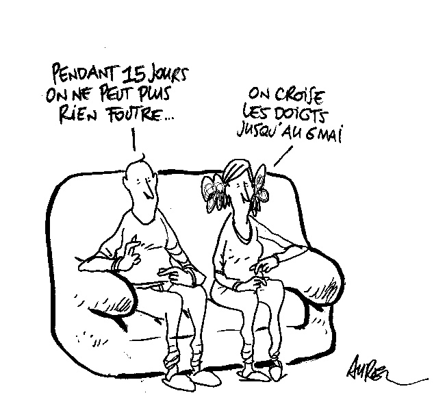 Illustration - Les dessins d'Aurel, 19 avril