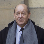 Jean-Yves Le Drian - AFP / Fred Dufour