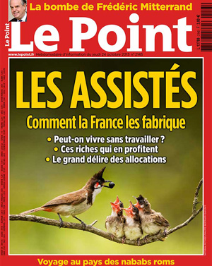 {Le Point} du 24 octobre 2013.