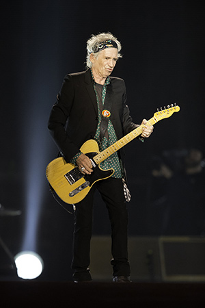 Illustration - Time is on my side - Keith Richards à Abu Dhabi (Émirats arabes unis) en février 2014. (Neville Hopwood / GETTY IMAGES EUROPE / Getty Images/AFP)