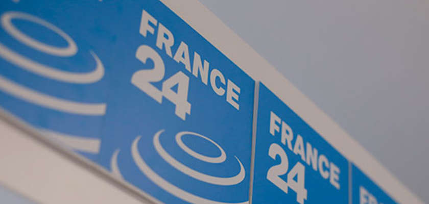 FRANCE 24 en gratuit sur la TNT Ile-de-France