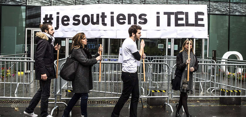 i-Télé : Dialogue de sourds