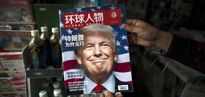 Chine : Trump aggrave son cas