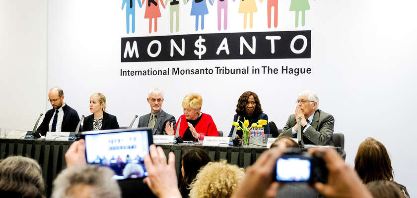 Monsanto reconnu coupable par le tribunal citoyen de La Haye