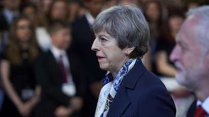 Theresa May aux abois