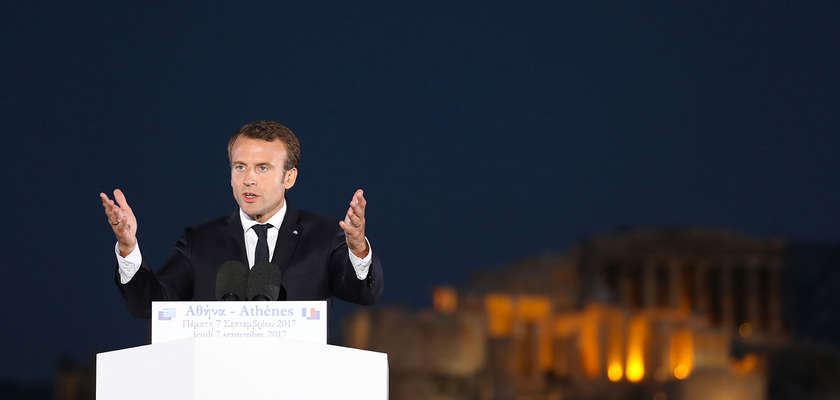 Europe : les contradictions de Macron