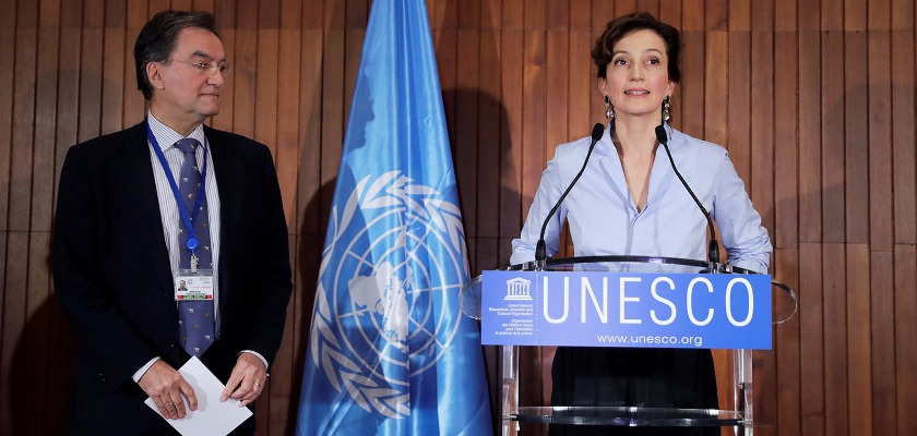 Unesco : la France et Audrey Azoulay face au chantage de Trump