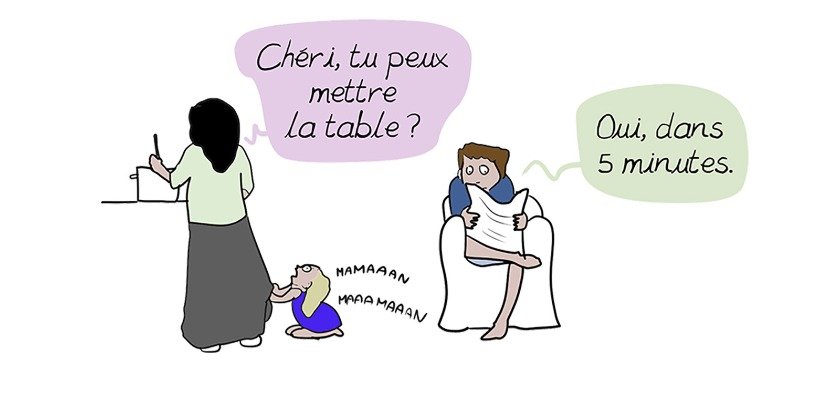 Partage ma charge mentale!