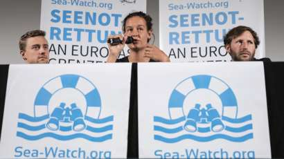 Le Sea Watch 3 force le blocus européen