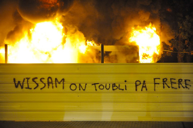 Clermont-Ferrand, 10 janvier 2012. - THIERRY ZOCCOLAN / AFP
