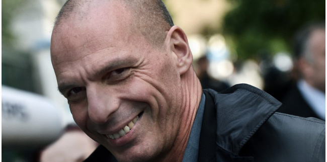 Yanis Varoufakis, ministre des finances (photo : AFP/Aris Messinis)