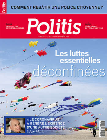 Couverture de l'Hebdo Politis N°1613-1614-1615