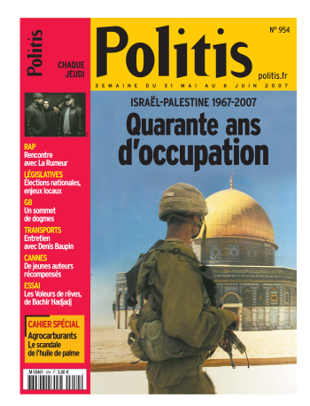 Quarante ans d'occupation